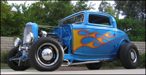 custom hot rod glass